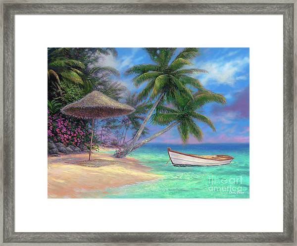 Drift Away Framed Print