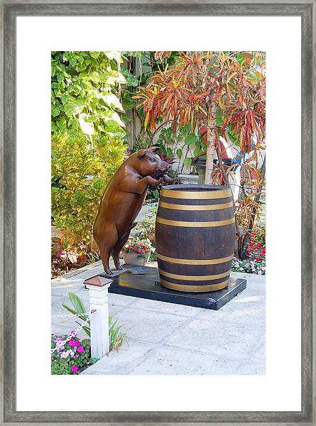 Drink Up Framed Print