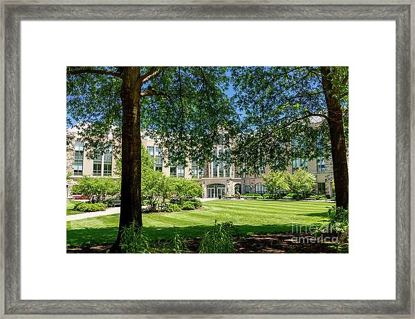 Driscoll Hall Framed Print