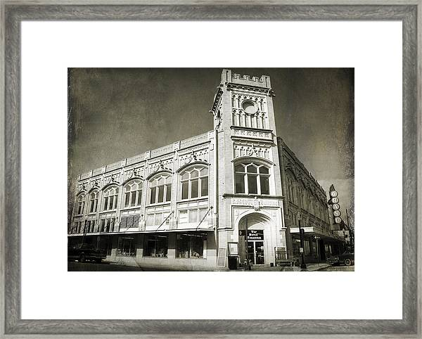Drive By Memories Framed Print