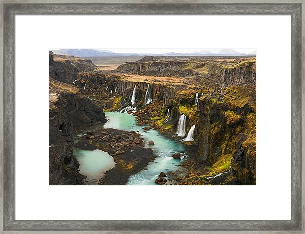 Driven To Tears Framed Print