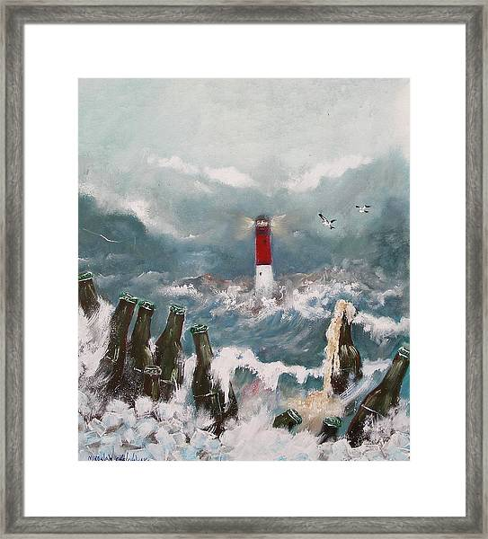 Drown In Alcohol Framed Print