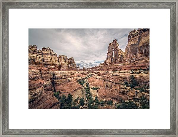 Druid Arch Framed Print