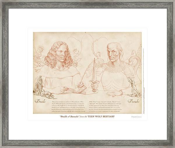 Druids And Darachs Framed Print