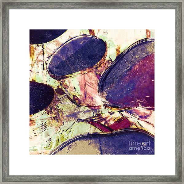 Drum Roll Framed Print