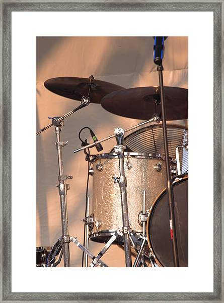 Drum Set Framed Print