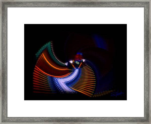 Drummer Dance Framed Print