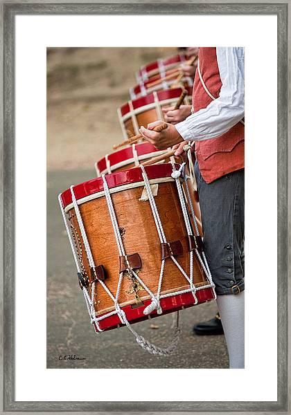 Drums Of The Revolution Framed Print