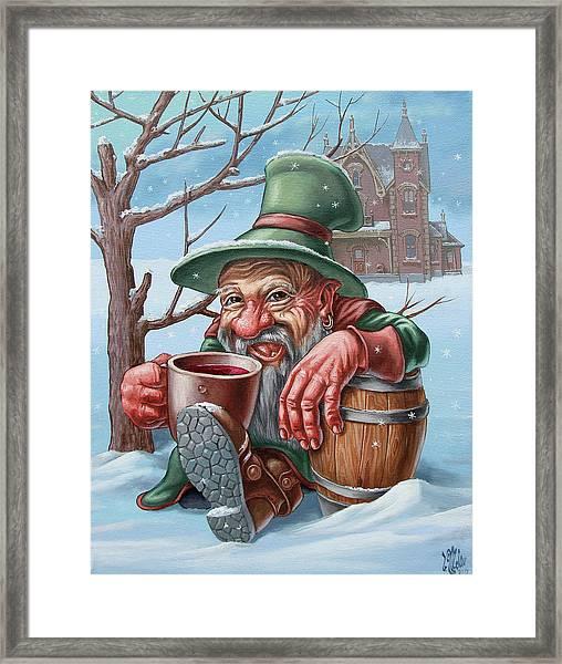Drunkard Framed Print