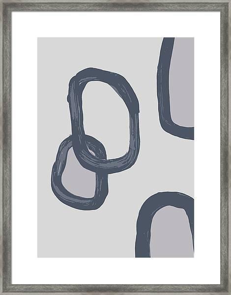 Dry Brush 3 Framed Print