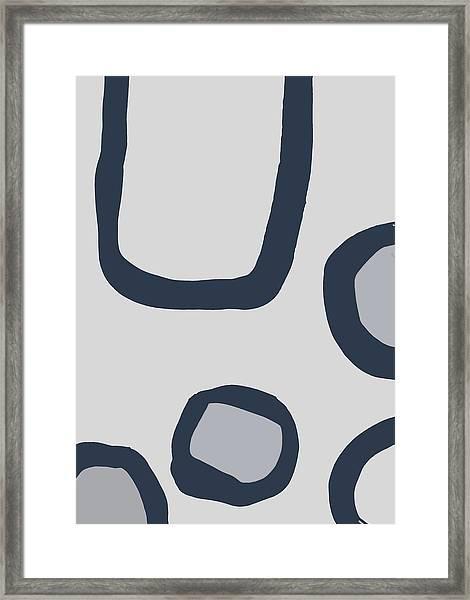 Dry Brush 4 Framed Print