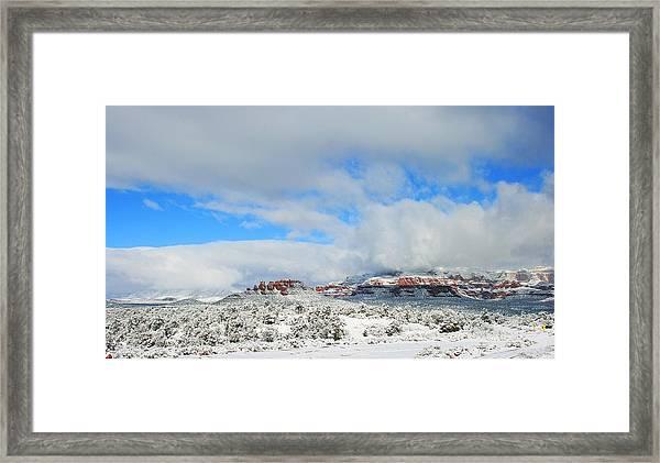 Dry Creek Framed Print