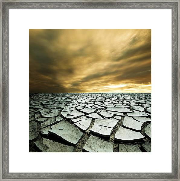 Dry Lowlands Framed Print