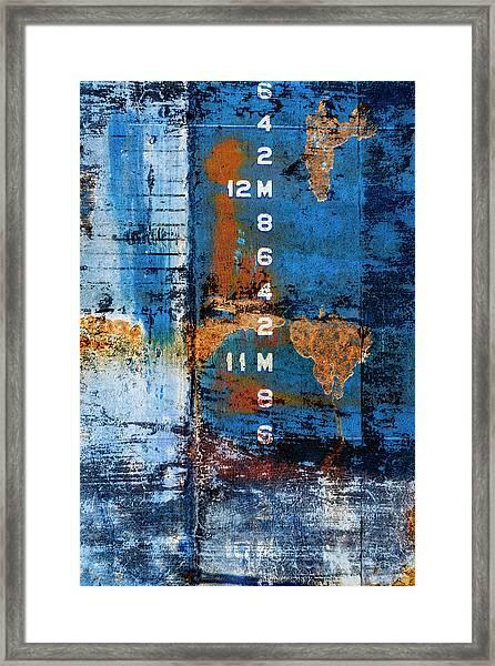 Drydock Framed Print
