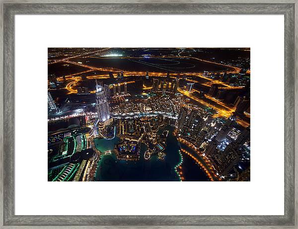 Dubai Framed Print