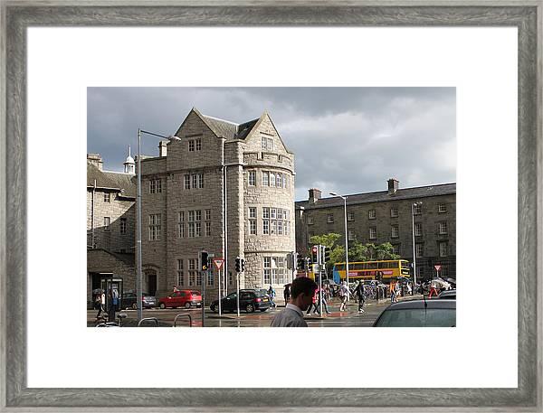 Dublin Near Pearse Street Framed Print
