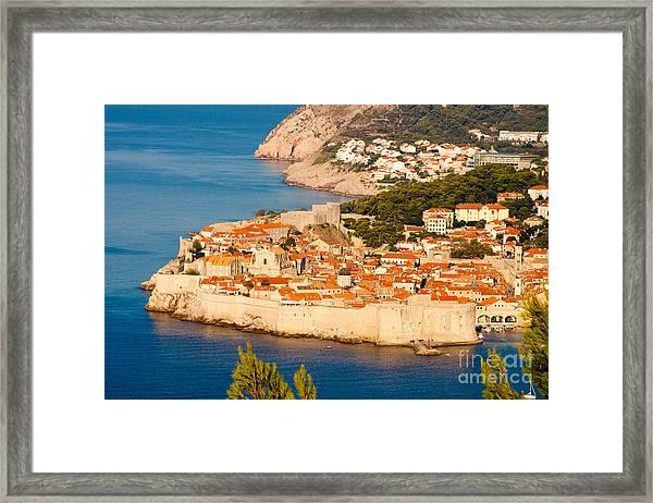 Dubrovnik Old City Framed Print