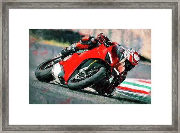 Ducati Panigale V4 - 01 Framed Print