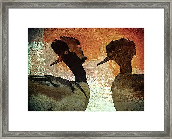 Duckology Framed Print