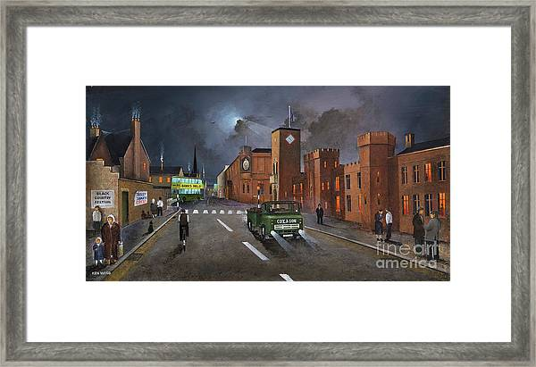 Dudley, Capital Of The Black Country Framed Print