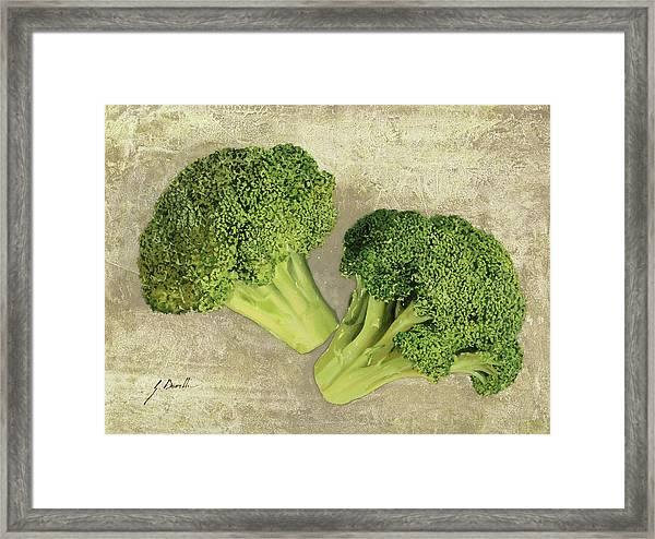 Due Broccoletti Framed Print
