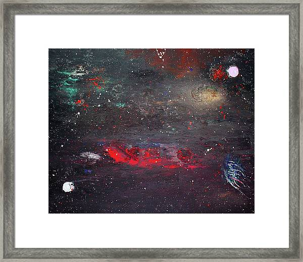 Framed Print featuring the painting Dulaity by Michael Lucarelli