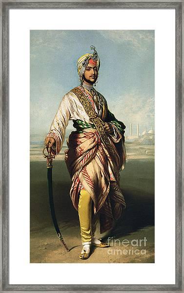 Duleep Singh, Maharajah Of Lahore Framed Print by Franz Xaver Winterhalter