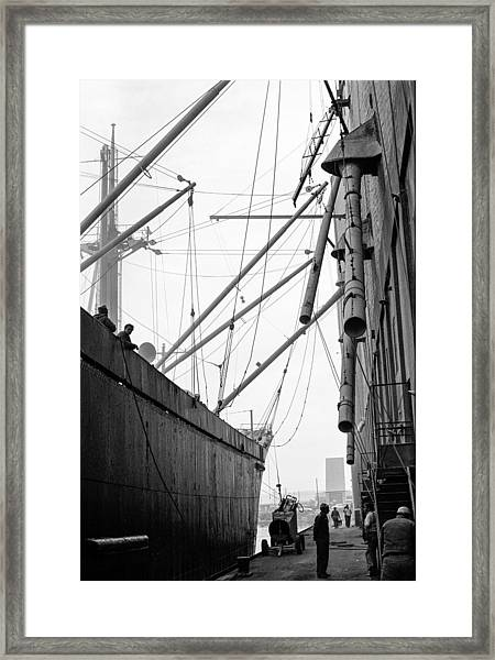 Duluth Harbor Framed Print