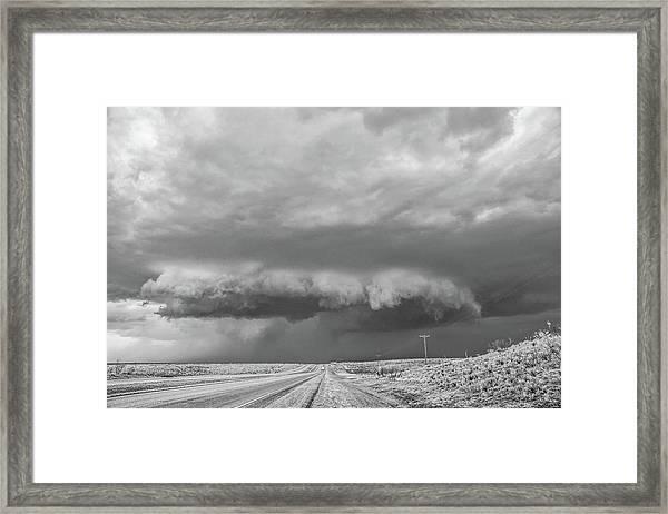 Dumas Wall Cloud Framed Print