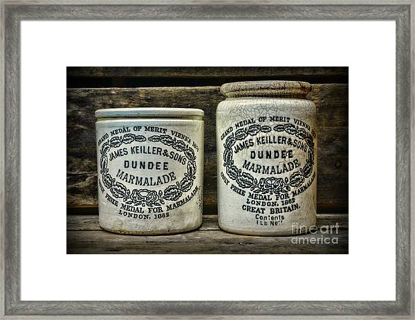 Dundee Marmalade Country Kitchen  Framed Print