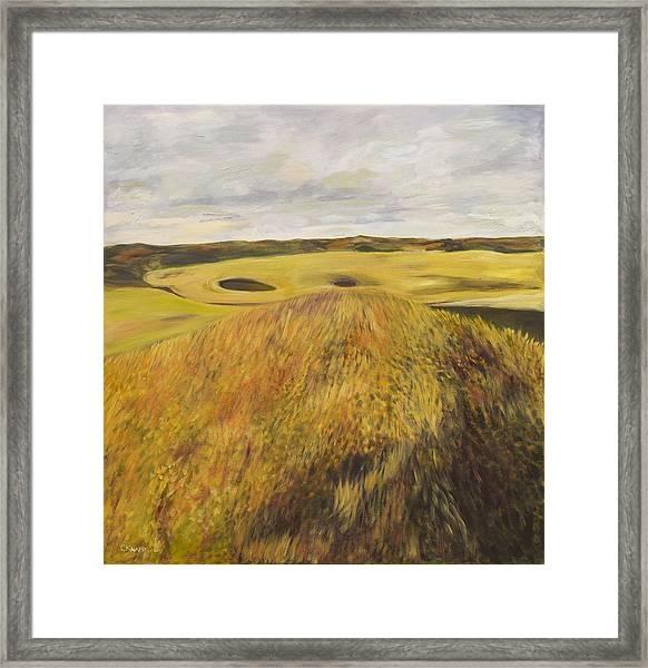 Dundonald Golf Course Framed Print