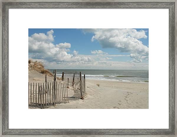 Dunes 4 Framed Print by Joyce StJames
