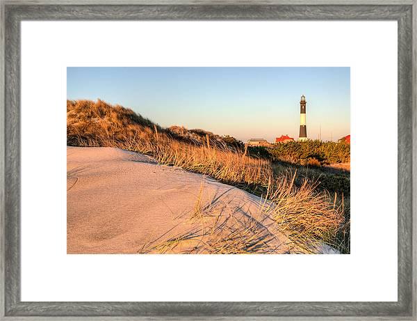 Dunes Of Fire Island Framed Print