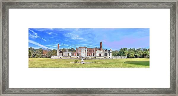 Dungeness Ruins Framed Print