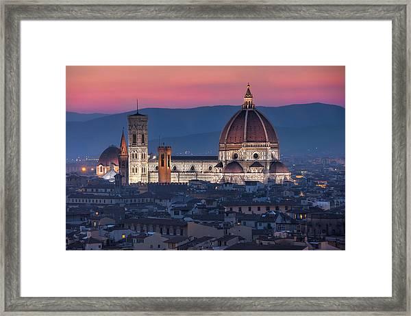 Duomo Di Firenze Framed Print