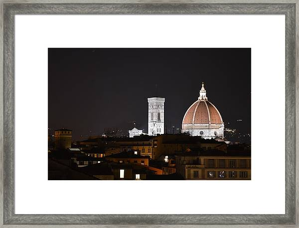 Duomo Up Close Framed Print
