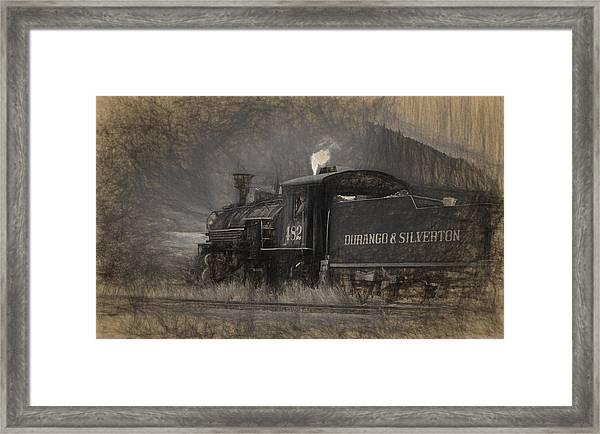 Durango And Silverton Train 2 Framed Print