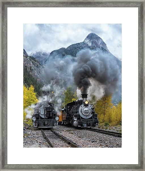 Durango Silverton Train Framed Print