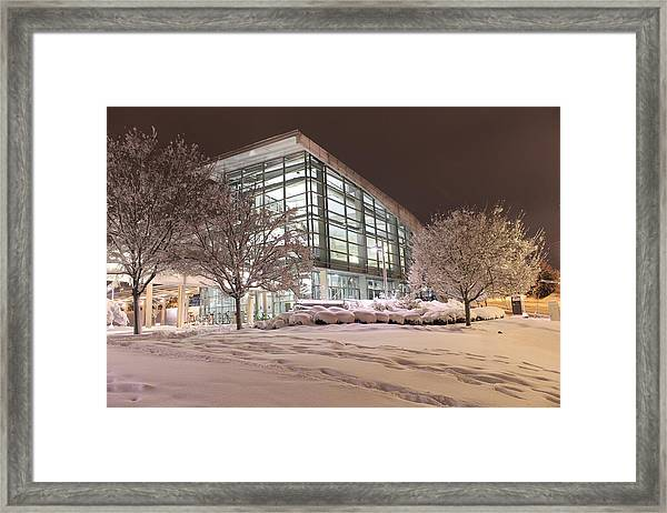 Durham Station Framed Print