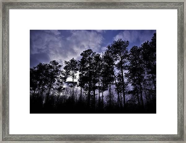 Dusk Settles Framed Print