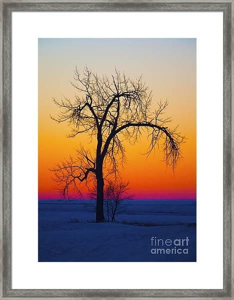 Dusk Surreal.. Framed Print