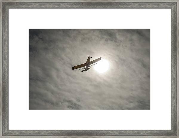 Duster's Sky Framed Print