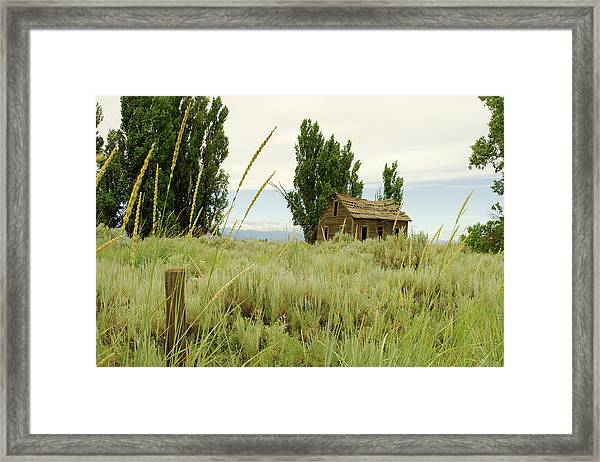 Dyer Country Home Framed Print