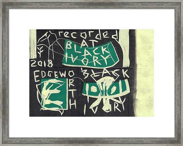 E Cd Main Framed Print