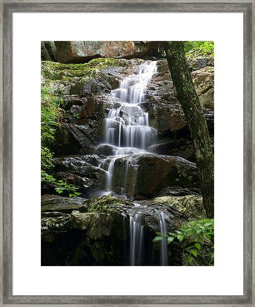 E Falls Framed Print