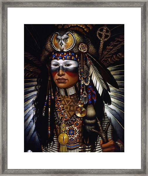 Eagle Claw Framed Print