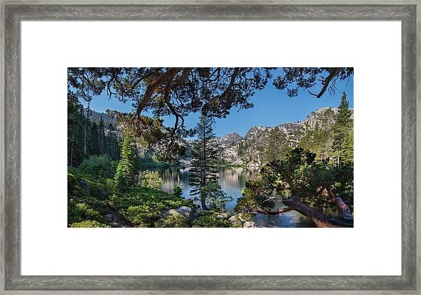 Eagle Lake - 2 Framed Print