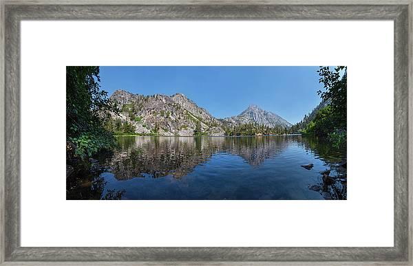 Eagle Lake Framed Print
