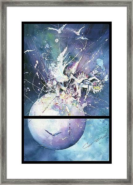 Eagle Spirit Dance Framed Print