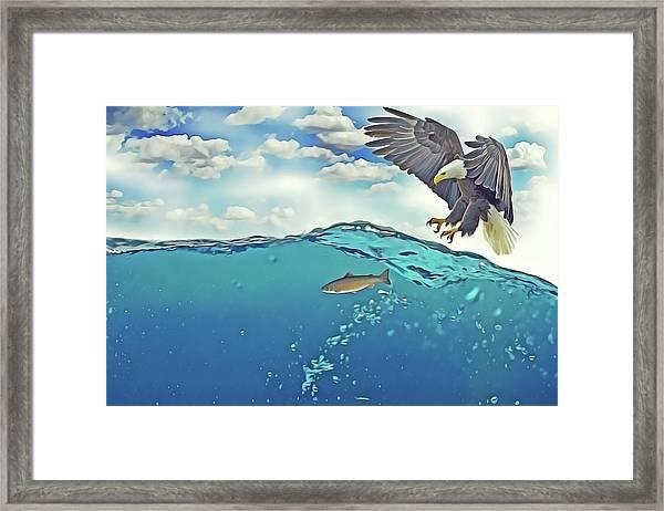 Eaglenfish Framed Print